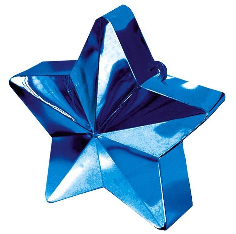 Poids à ballon étoile bleu pas cher