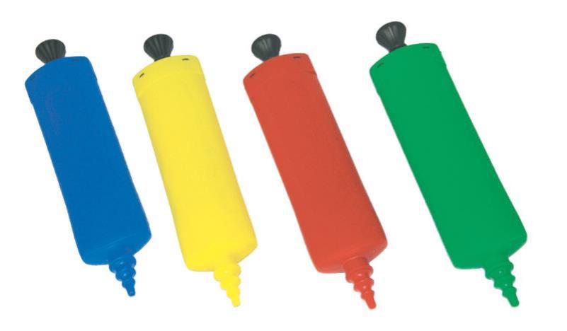 pompe plastique ballons de baudruche pas cher