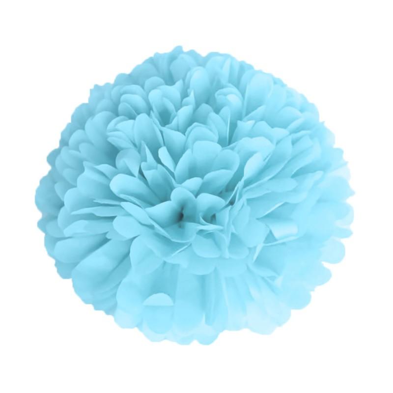 Pompom Bleu Dragee pas cher