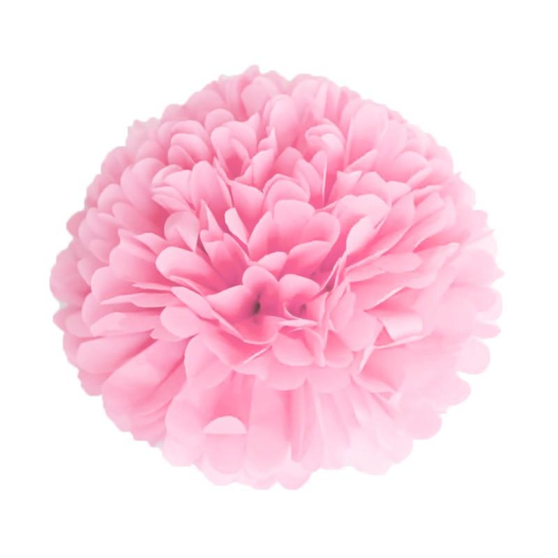 Pompom Rose Vintage en papier