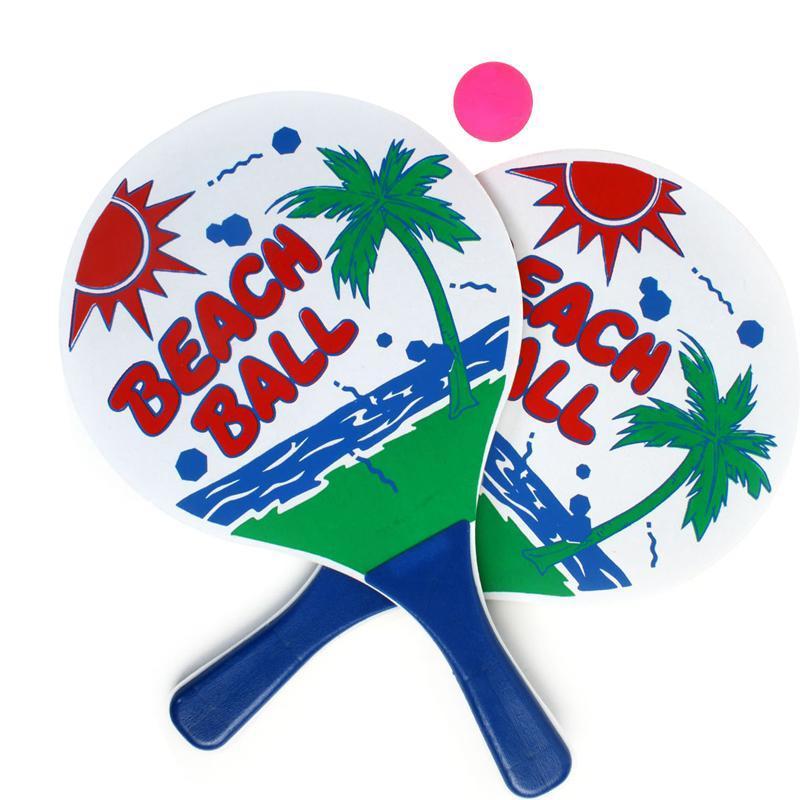 Raquette de plage beach ball pas cher