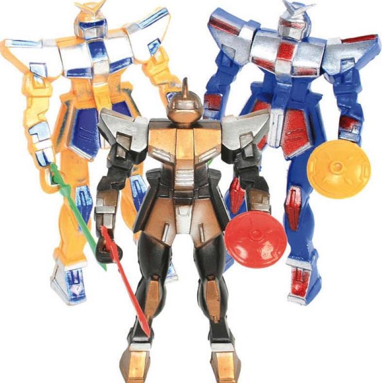 Robot articulé assortis plus armes