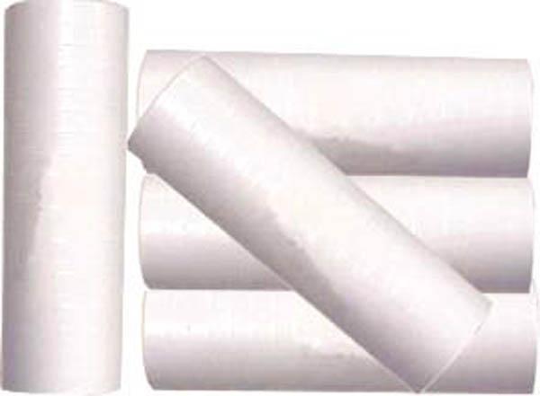 Fête : Rouleau de Serpentins Blancs Fluos 6m