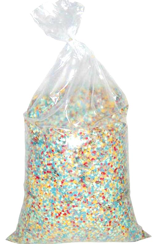 Sac de confettis multicolores pas cher