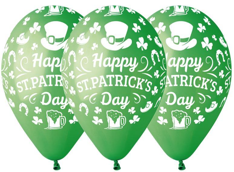 Sachet ballons Saint Patrick