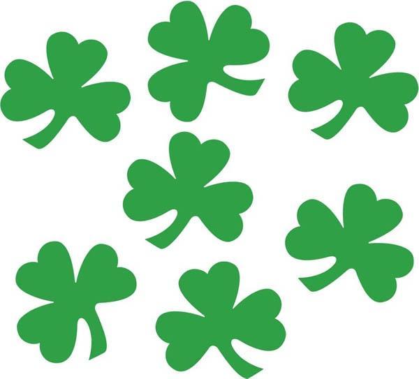 Confettis Saint Patrick