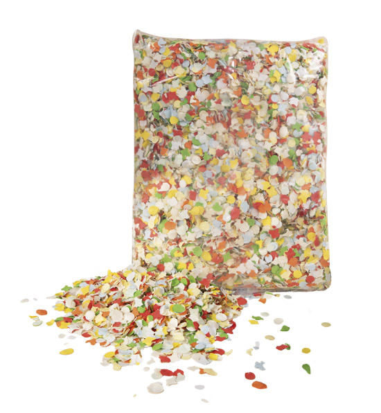 sachet de confettis dépoussiérés 100 grs pas cher