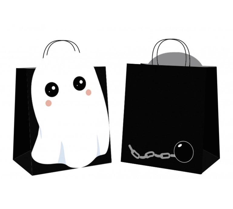 Sacs chasse bonbons Ghost pas cher