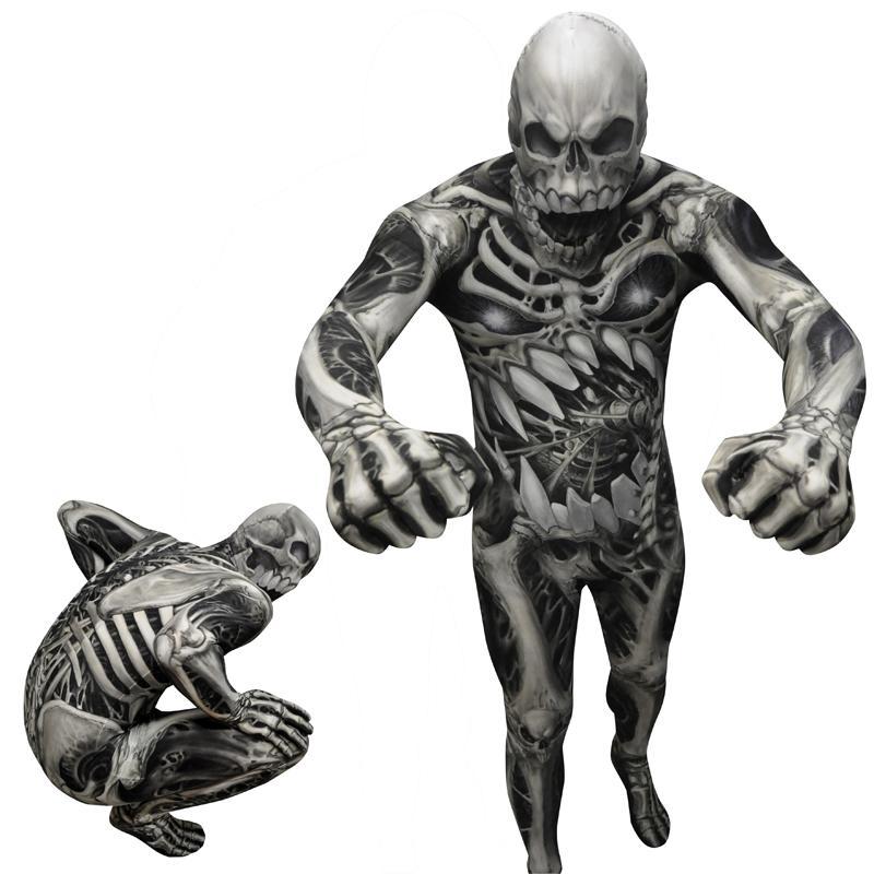 Seconde Peau Monstre Squelette pas cher