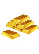 Set de 6 lingots d'or pas cher