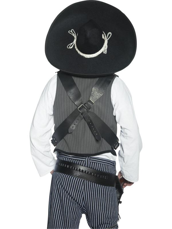 Sombrero Mexicain authentique western pas cher