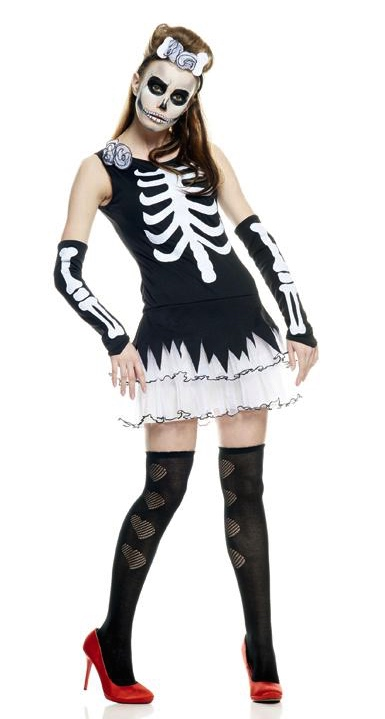 Squelette sexy adulte pas cher