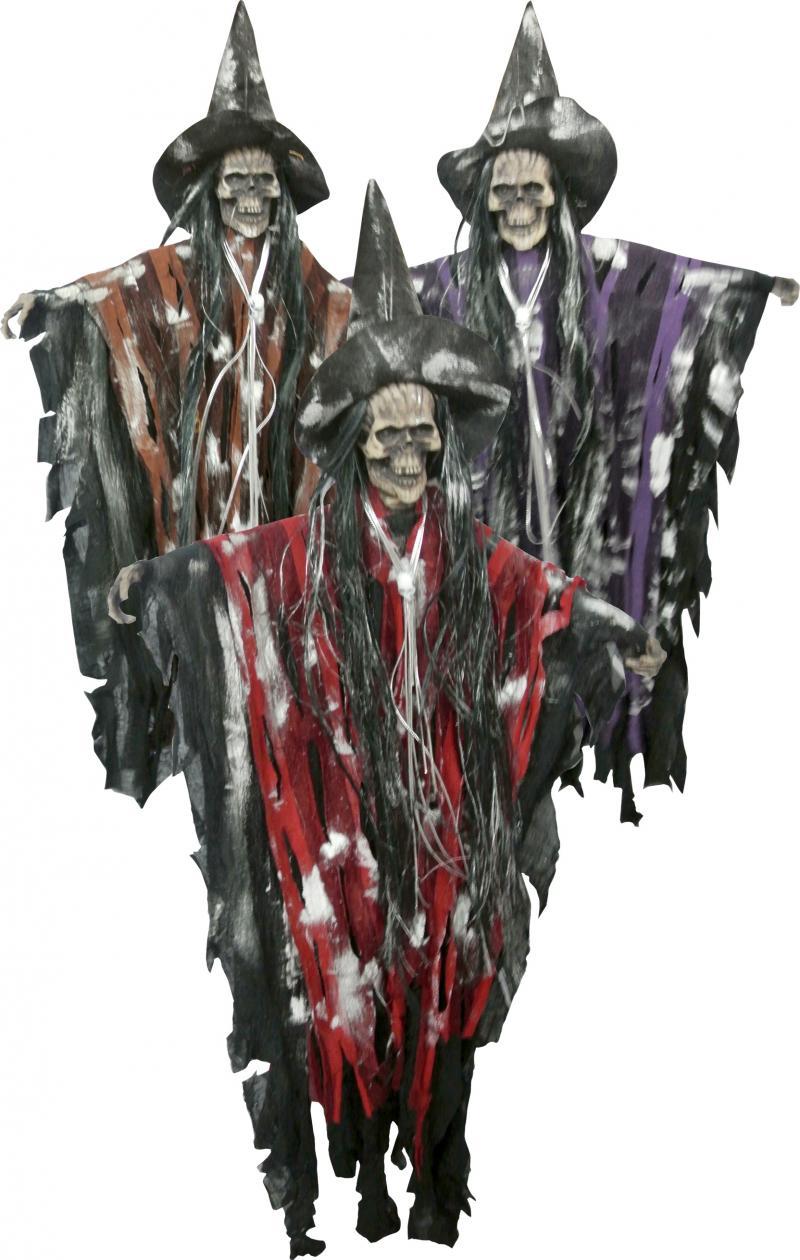 Suspension de sorcière squelette