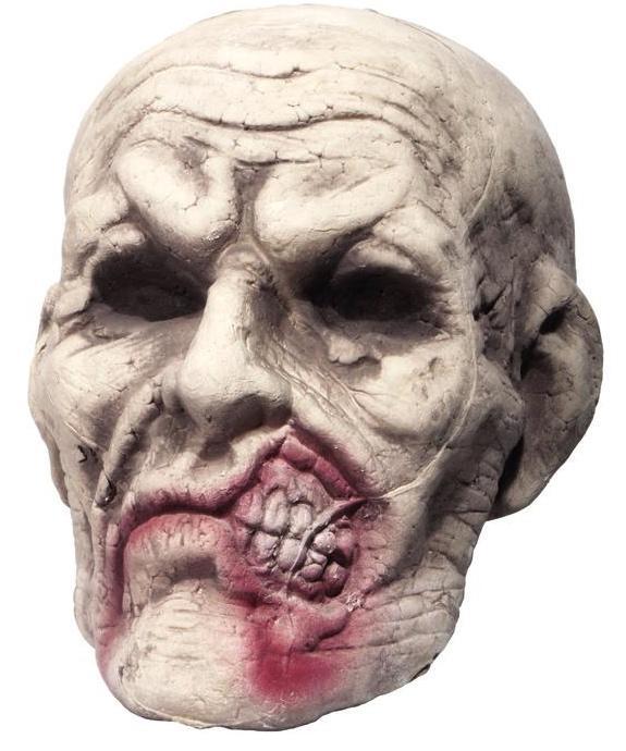 Halloween : tête de zombie