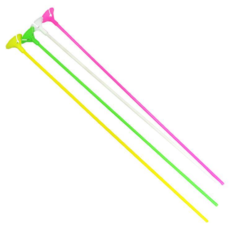tiges à ballons multicolores pas cher