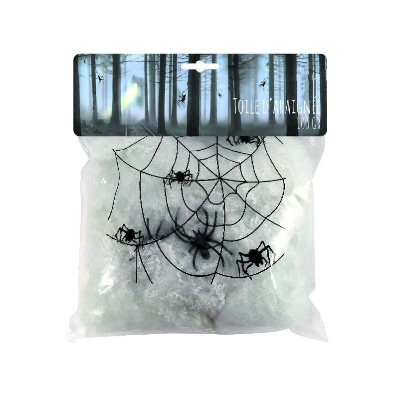 Toile d'araignée blanche pas cher