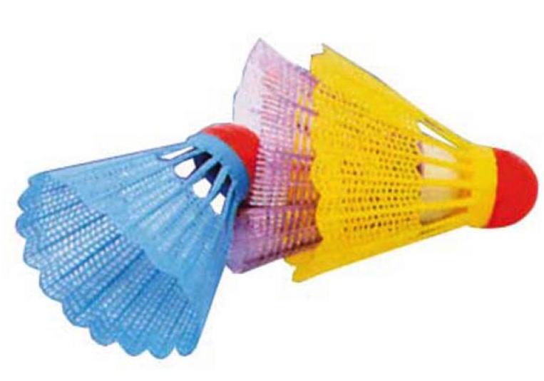 6 volants de badminton pas cher